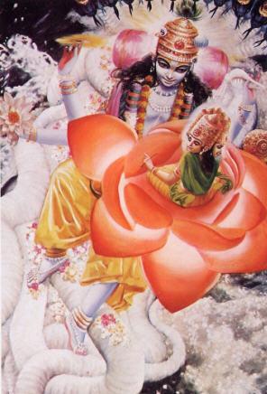Garbhodaksayi Vishnu Creates Brahma