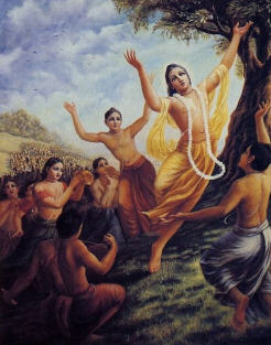 Lord Chaitanya and Nityananda