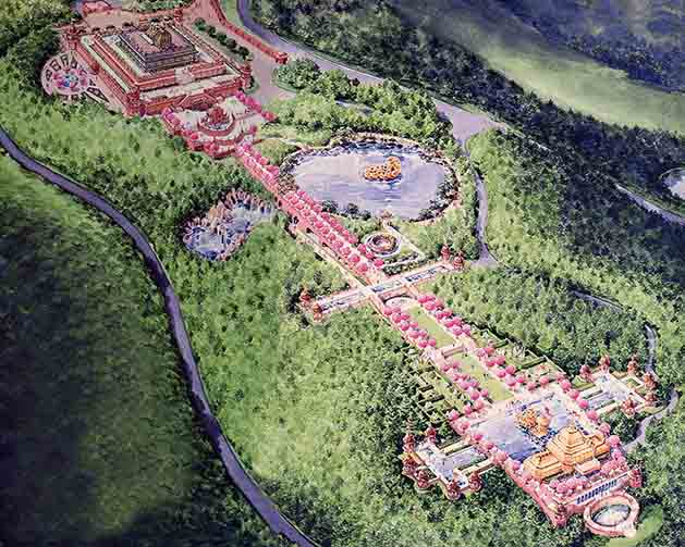 The Master Plan For Krishna Land