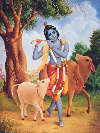 Krishna Play Flute