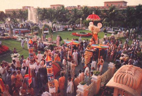 ISKCON Festival at Mayapur