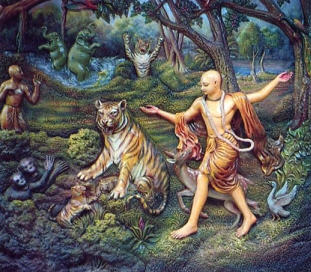 Painting of Lord Chaitanya