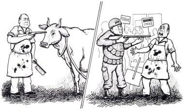 Wholesale Slaughter by Drutakarma Dasa, Mathuresa Dasa