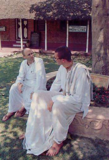 Brahmatirtha Dasa and Anakadundubhi Dasa