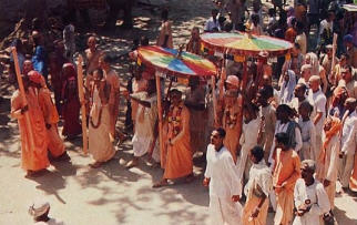 ISKCON Devotees at Mayapur