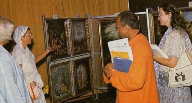 Yadurani Devi Explains Vedic Art
