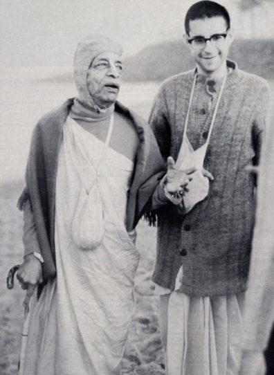 Srila Prabhupada With Giriraj Maharaj
