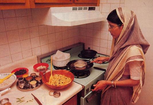 A Gracious Hostess by Visakha Devi Dasi