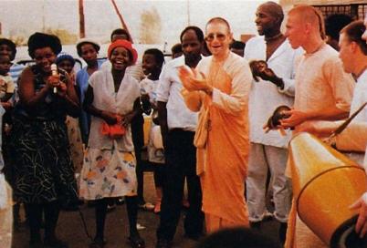 Kirtan with Giriraj Swami in South Africa