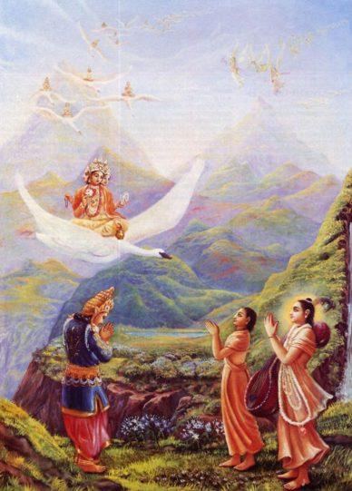 Renunciation In Royal Dress by Bhurijana Dasa