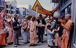 Rohini Kumar Swami with Devotees Kirtan