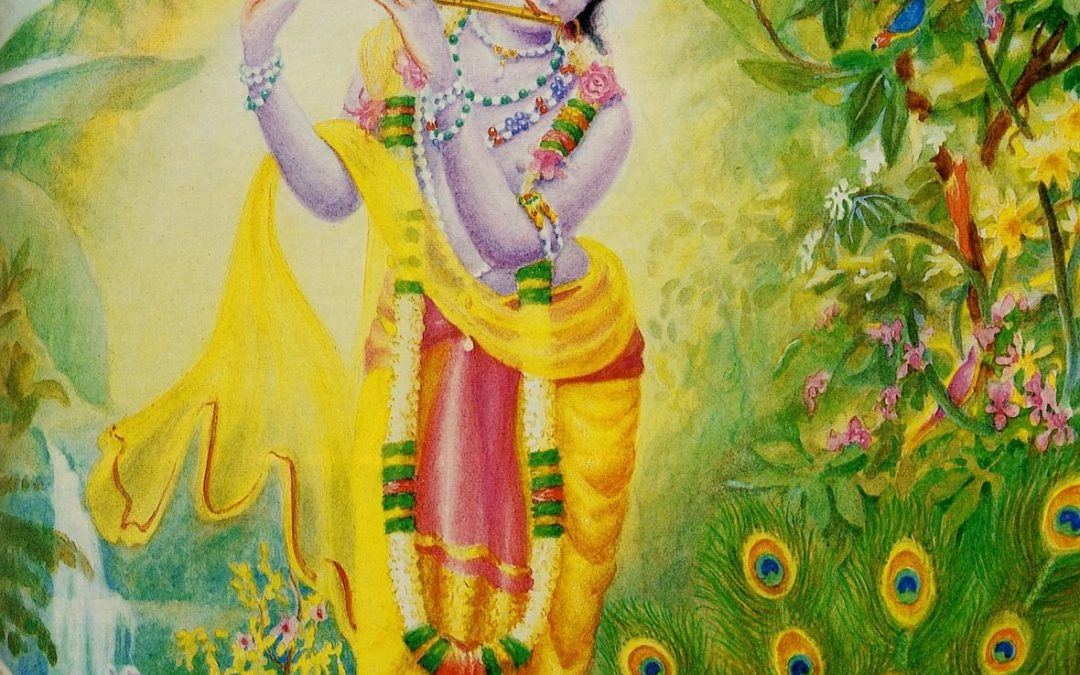 Turning to the Beauty of Krsna by Ajitananda Dasa