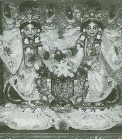 Deities of Sri Sri Nitai-Gaurasundara