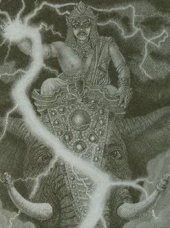 Demigod Indra