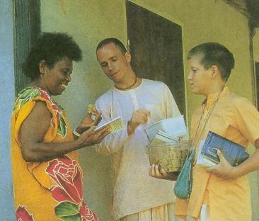 Sharing in New Caledonia by Indradyumna Swami