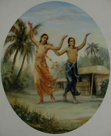 Lord Caitnaya and Nityananda