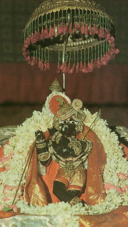 Sri Radha-Ramanaji The Self-Manifested Deity by Padma Nabha Goswami