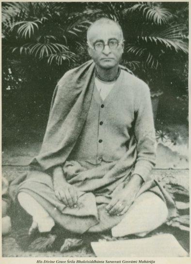 Srila Bhaktisiddhanta Sarasvati Goswami