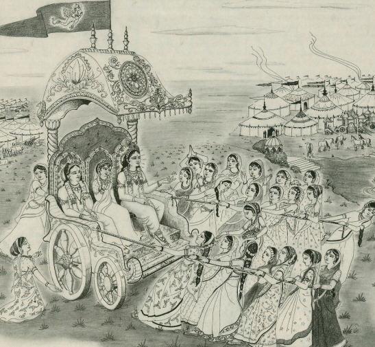 Rathayatra Pastimes by Lokanath Swami
