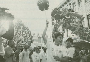 A Chinese - Lord Jagannath Rathyatra in Malaysia