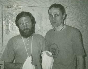 Mayuradhvaja Dasa and Yamaraja Dasa