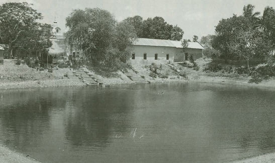 Pond Near The Gopinath Temple
