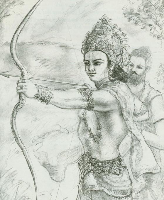 Dronacarya Test  Arjuna