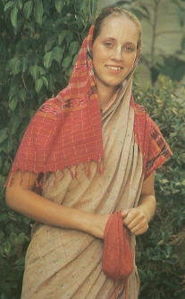 Why I Wear a Sari  by Madireksana Devi Dasi