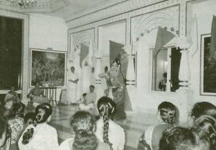 Devotee Dance in Rama Festival in Houston