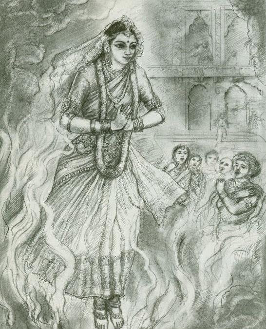 The Birth of Draupadi Translated from Sanskrit by Hridayananda Dasa Goswami