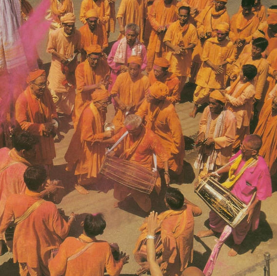 Manipur Devotee Chant The Holy Name
