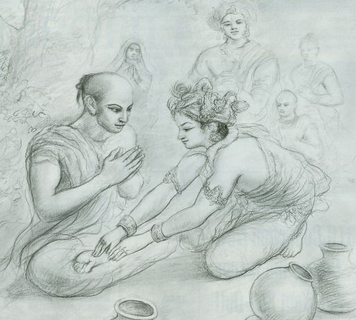 Lord Krsna Introduced Himself To Yudhisthira
