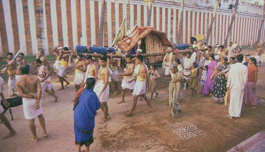 Sri Rangam Padayatra