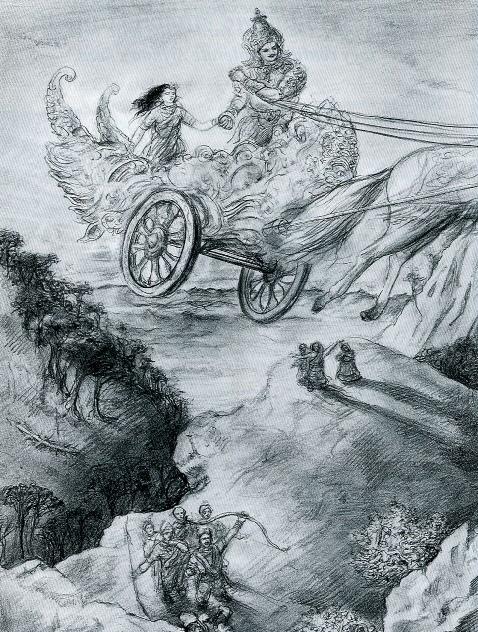 The Kidnapping of Princess Subhadra by Hridayananda Dasa Goswami
