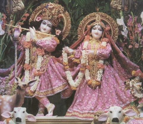 Deity of Sri Sri Radha Gopinath