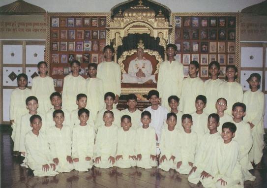 ISKCON Gurukul Boys