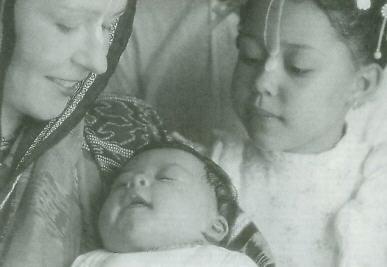 Thoughts at the Births of Grandchildren by Urmila Devi Dasi