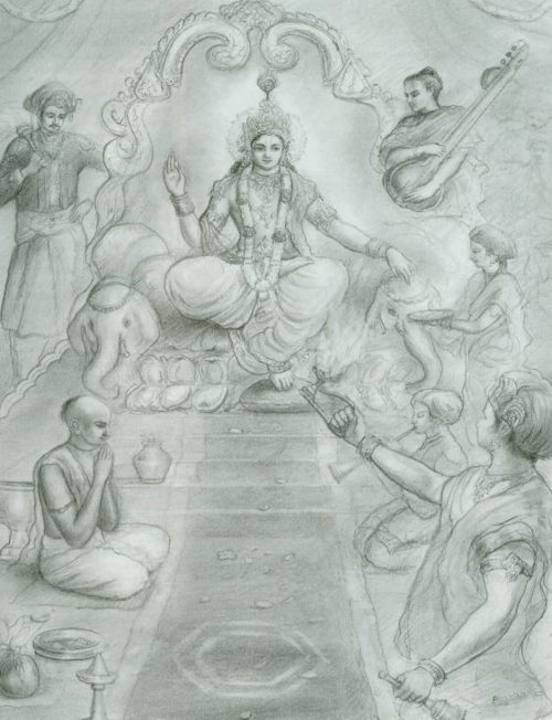 Lord Krsna is Worshiped at the Rajasuya Sacrifice