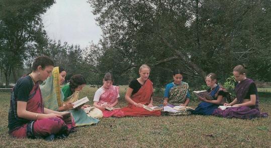 Ashram Reflections by Krsna Priya Devi Dasi