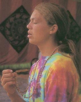 Chanting Maha Mantra