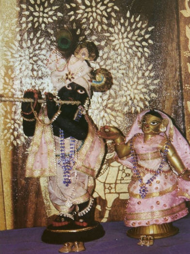 The Reappearance of Sri Sri Radha-Madhava by Bhaktarupa Dasa