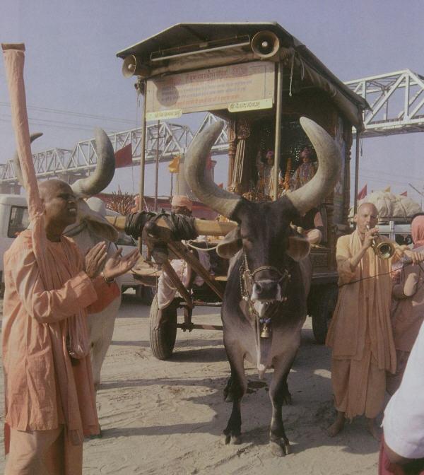 Kumbha Mela 2001 by Nitya Trpta Devi Dasi