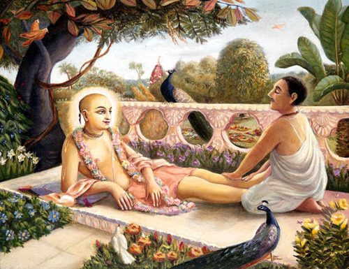 A King Becomes A Servant by Mathuresa Dasa