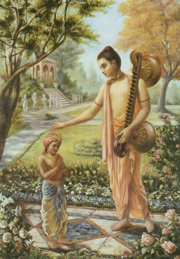 Back To Godhead - Narada Offers Blessing To Dhruva