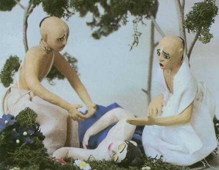 Back To Godhead - Nimai Falls Unconscious