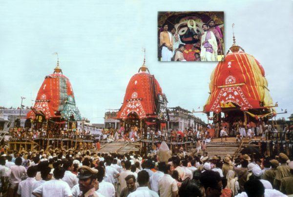 Lord Jagannatha's Rathayatra Worldwide by Akincana-Priyabandhu Dasa