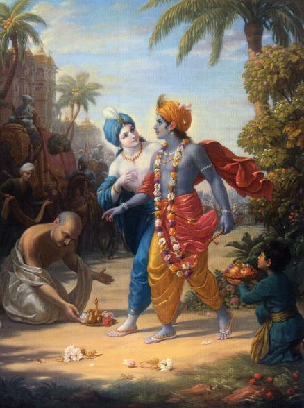 Back To Godhead  - Krishna Balarama