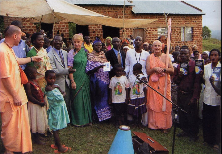 Another Moon Rises Over East Africa by Tattvavit Dasa