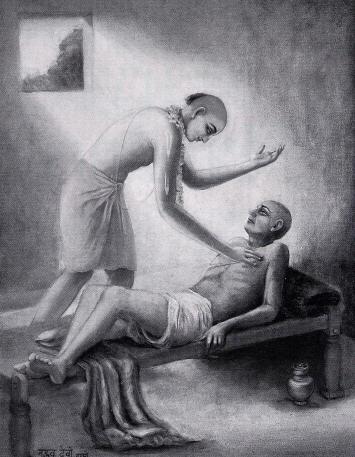 Back To Godhead - Lord Caitanya With Amogha