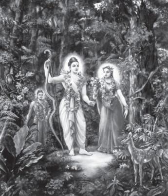 Lord Rama and Sita Devi
